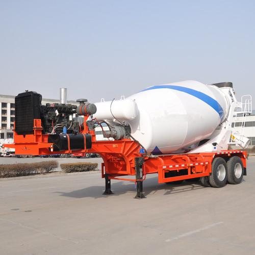 Bulk Powder Mixer Semi Tanker Trailer