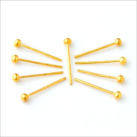 Brass Imitation Ball Pin