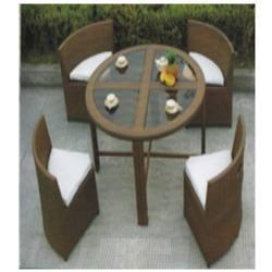 Sofa Set In Rattan