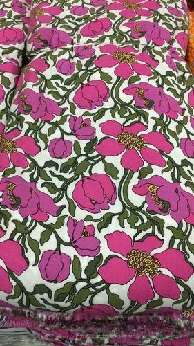 Modal Rayon Floral Printed Fabrics