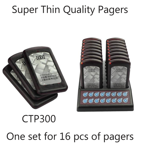 Super Thin Quality Pagers
