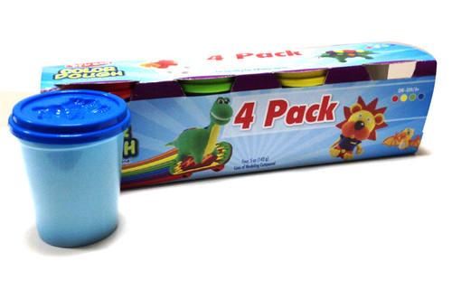 4 Pack Play Plasticine Dough