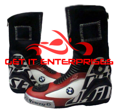 Motorbike Racing Leather Boots
