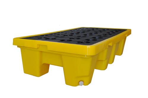 2-Drum Polyester Spill Containment Pallet
