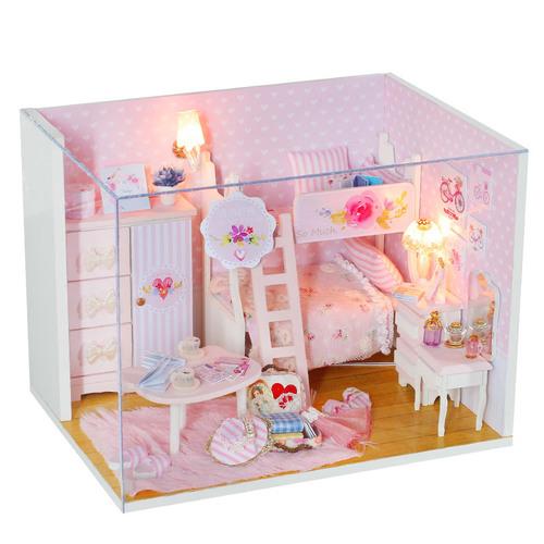 Mini Doll House For Birthday Gift