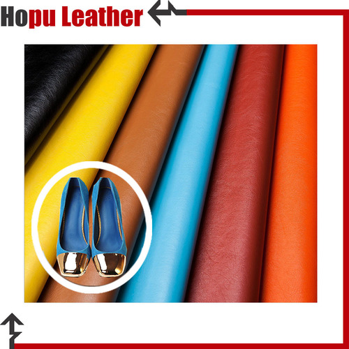 Vegan Faux Leather Raw Material Fabric For Sandal