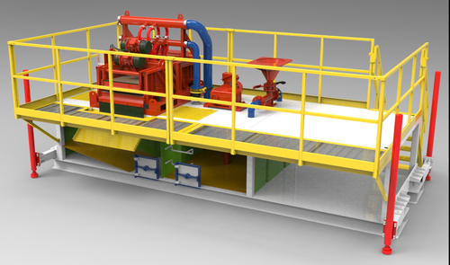 Kams150 Mud Recycling System For Hdd