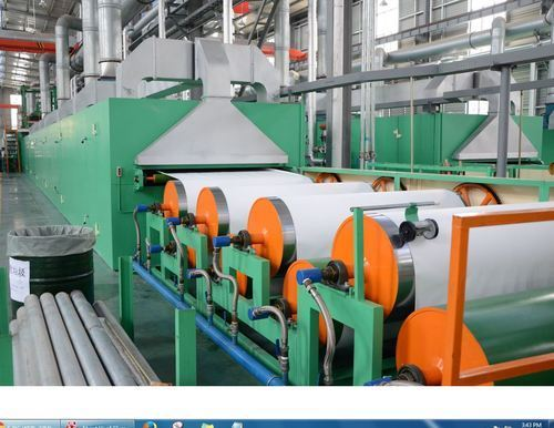 Pvc Pu Synthetic Leather Producing Machine