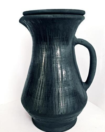 Terracotta Water Jug Black