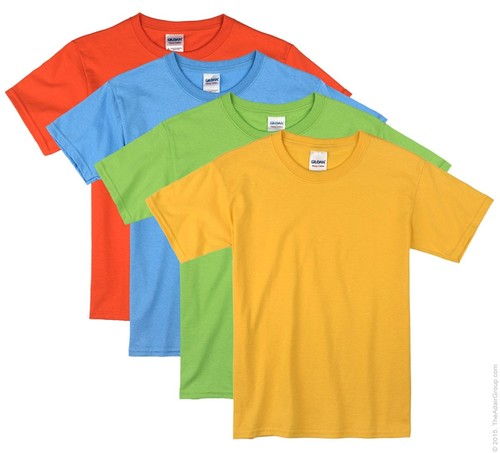 Colorful t shirts online
