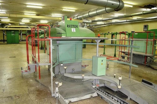 6659/R7-1 X Rieter Sb D15 Breaker Drawing Machine Without Autoleveller