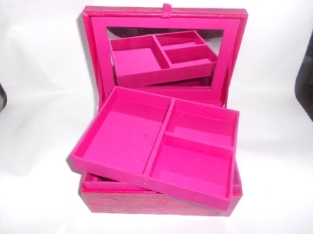 Leather Makeup Boxes