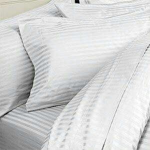 Self Strip Single Hotel Bedsheets