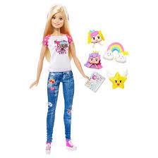 Barbie Doll Soft Toy