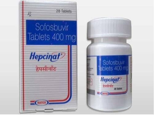 Sofosbuvir 400 mg tab