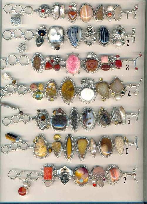 Designer Stone Studded Bracelets