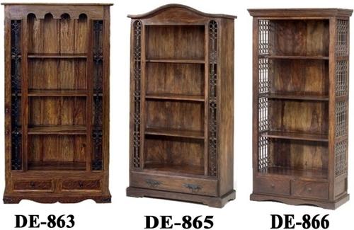 wooden bookshelf, india design wooden bookshelf, India design wooden ...