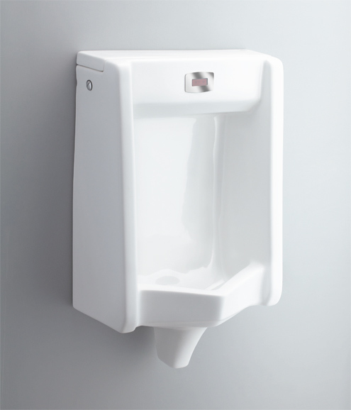 Urinal With Sensor