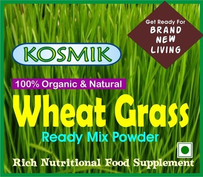 KOSMIK Wheat Grass Powder