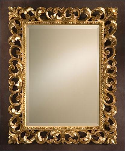 Carved Mirror Frame In Saharanpur Uttar Pradesh India