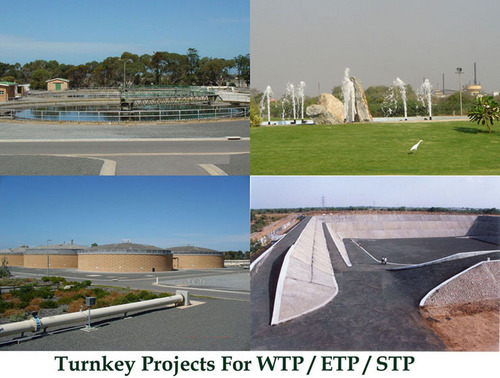 Turnkey Projects for WTP / ETP / STP