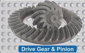 DRIVE GEAR & PINION