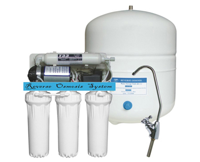 Standard 5-Stage RO System with Pump