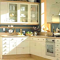 L' Shape Modular Kitchen Exporter, Supplier, AMIT ENGG. & METAL ...