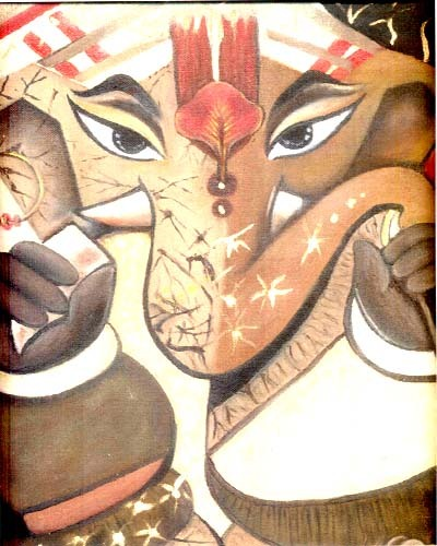 Lord Ganesha Paintings Art Lord Ganesha Painting
