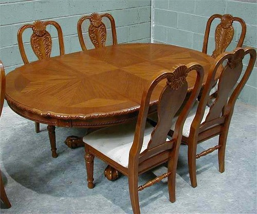 Wooden Carved Dining Table In Dugri Ludhiana Punjab India SPHERE