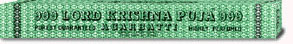 999 LORD KRISHNA PUJA INCENSE STICK