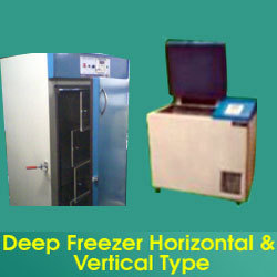 Deep Freezer Horizontal & Vertical Type