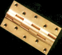 Solid Brass Rly.Hinges