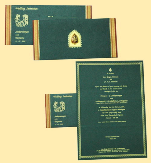 Invitation Cards Designs For Marriage In Chennai