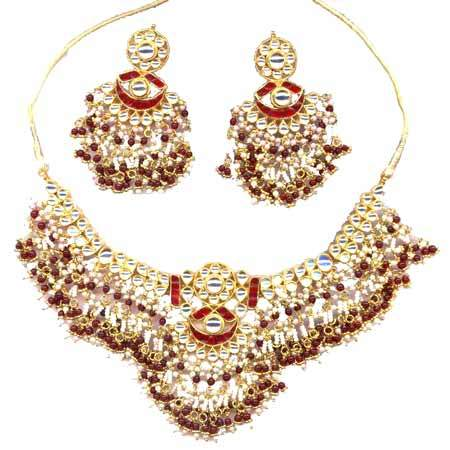 ladies tanishkaimpex antique manufacturer necklace gold jaipur from set