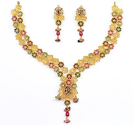 Jewellery Designs,Bridal Jewellery-Indian Jewellery-Gold Sets