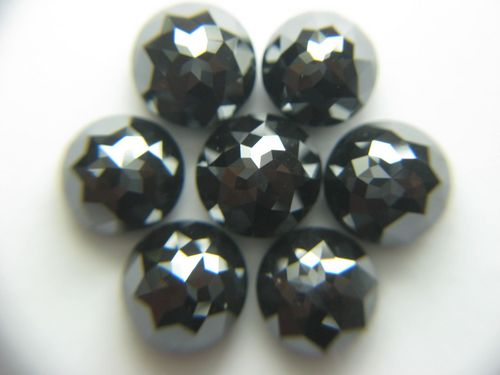 BLACK MIRROR CUT DIAMOND