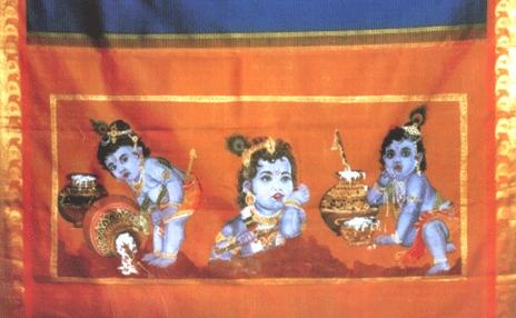 Silk Cotton Sarees in Kumaran Silks Silk Cotton Embroidery Saree