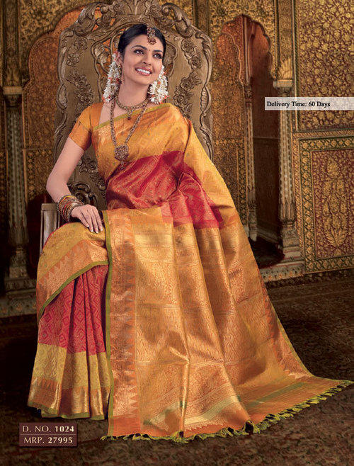 Bridal Silk Sarees in Chennai, Tamil Nadu, India - THE CHENNAI SILKS
