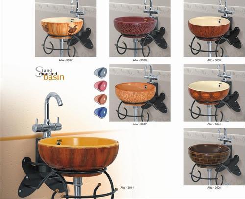 Designer bowl wash basins in morbi gujarat india for Latest wash basin designs india