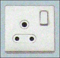 1 Gang Round Pin 15 Amp Switch Socket