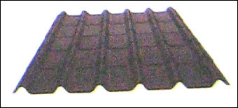 Black Corrugated Tiles