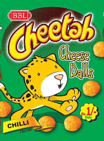 Chilli Cheese Ball Snacks
