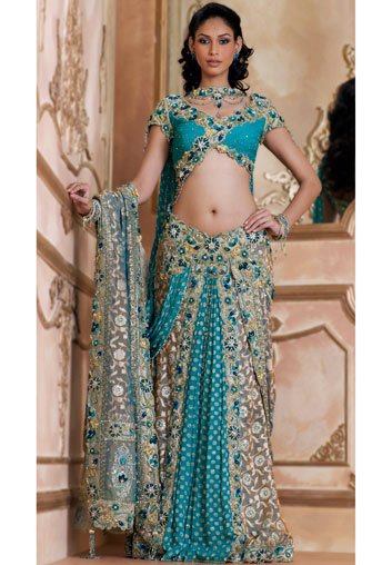 new ghagra choli designs