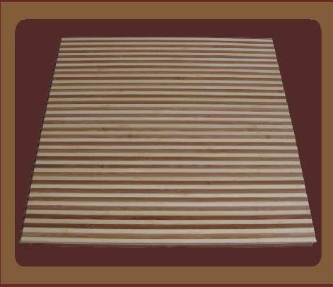 Rectangular Zebra Bamboo Flooring