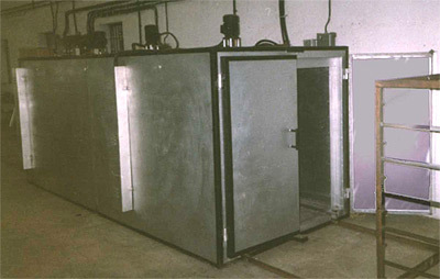 RED LINE electric powder curing ovens