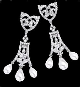 Elegant Diamond Earrings