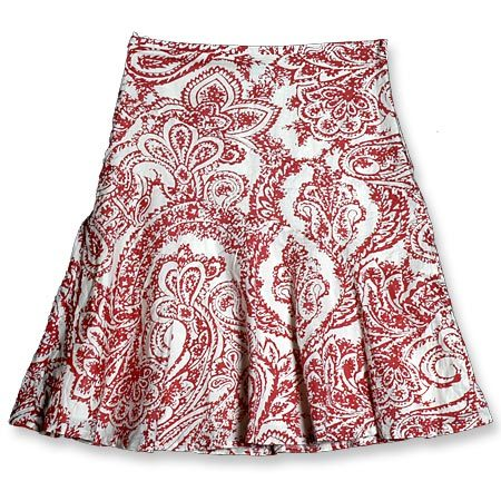 Designer Printed Ladies Mini Skirts