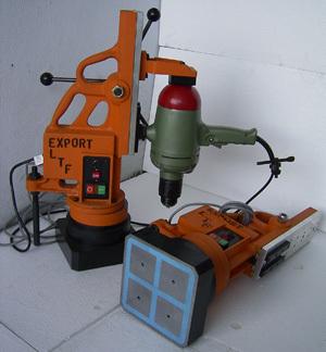 magnetic base portable milling machine