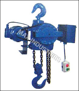 Heavy Duty Motorized Chain Pulley Blocks